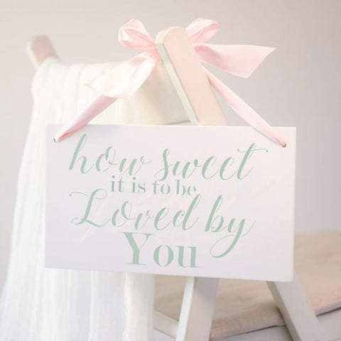 How Sweet It Is Wedding Sign Stencil