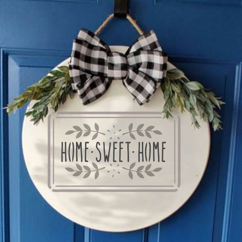 3 Piece Housewarming Stencil Pack