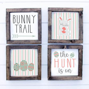 4 Piece Easter Stencil Set