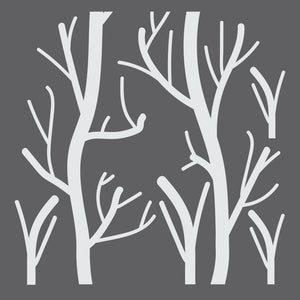 Tree Branches Mini Craft Stencil by Crafty Stencils