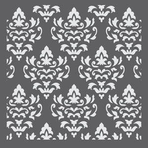 Palermo Damask Mixed Media Stencil