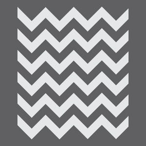 Chevron Mini Craft Stencil by Crafty Stencils
