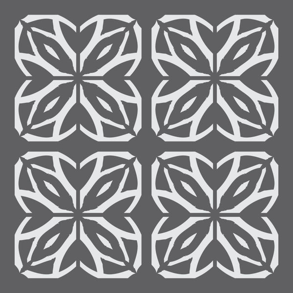 Geometric Art Deco Mini Craft Stencil
