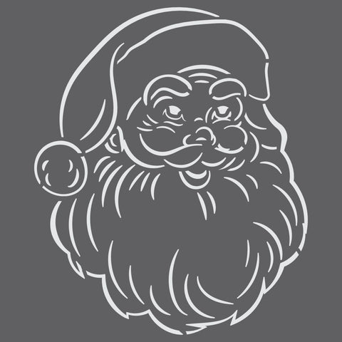 Santa Claus Mini Craft Stencil