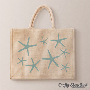 Starfish Craft Stencil by Crafty Stencils