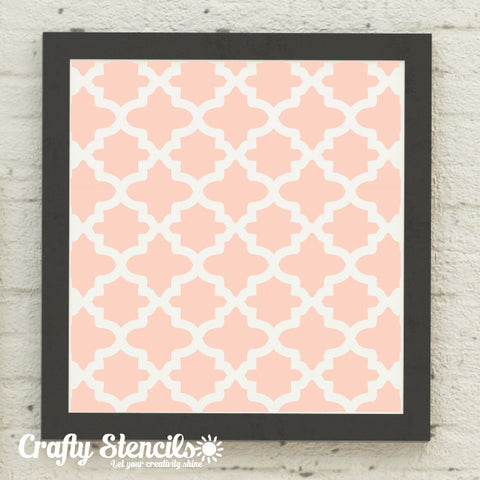 Fes Designer Craft Stencil by Crafty Stencils