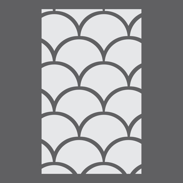 Scales Designer Craft Stencil