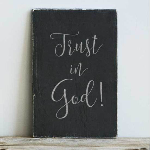 Trust in God Craft Stencil