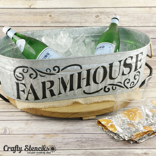 Farmhouse Sign Craft Stencil