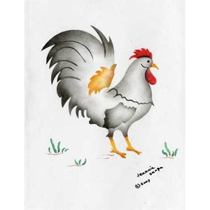 Rooster Craft Stencil Set