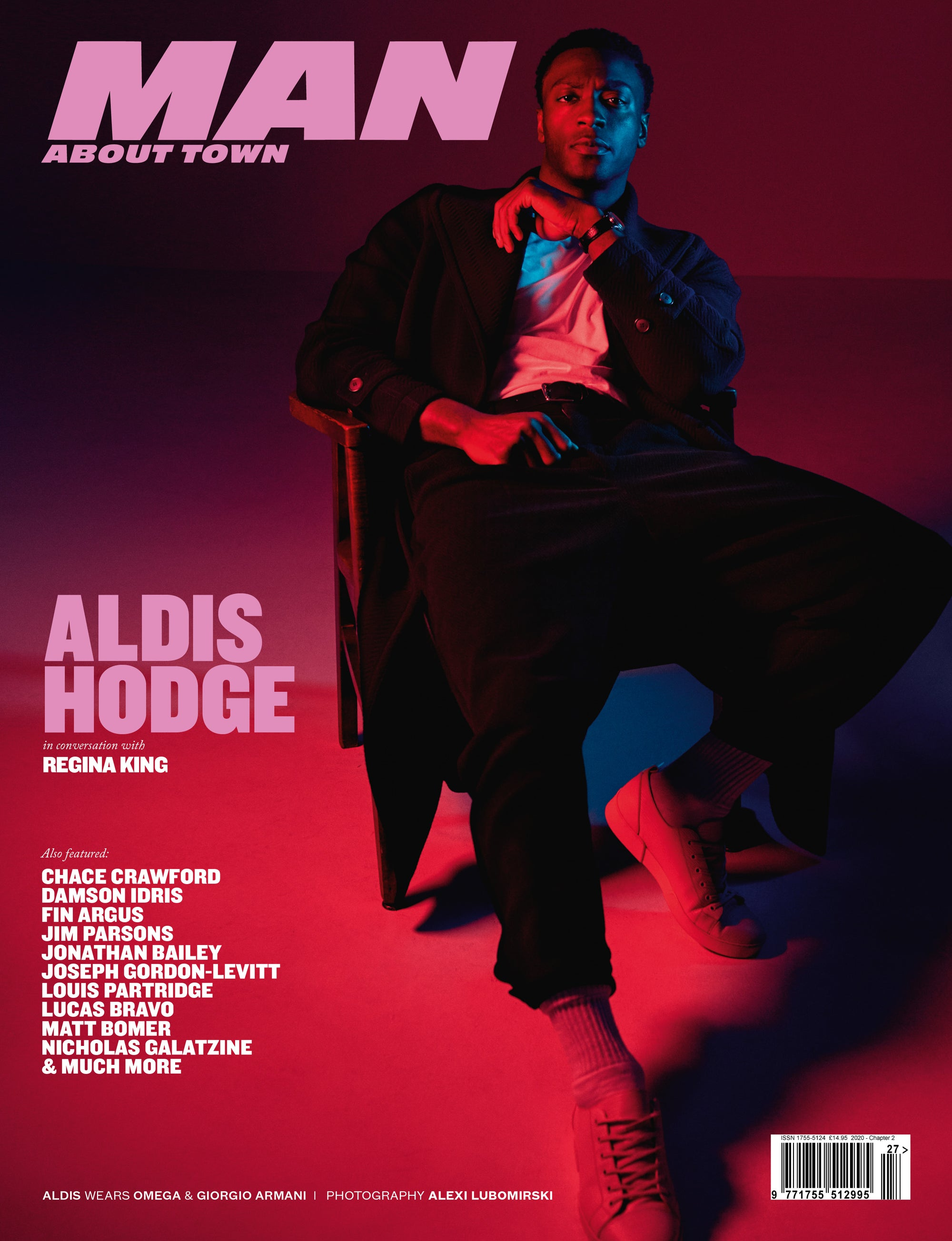 Actor ALDIS HODGE cover Man About Town 2020, Chapter II