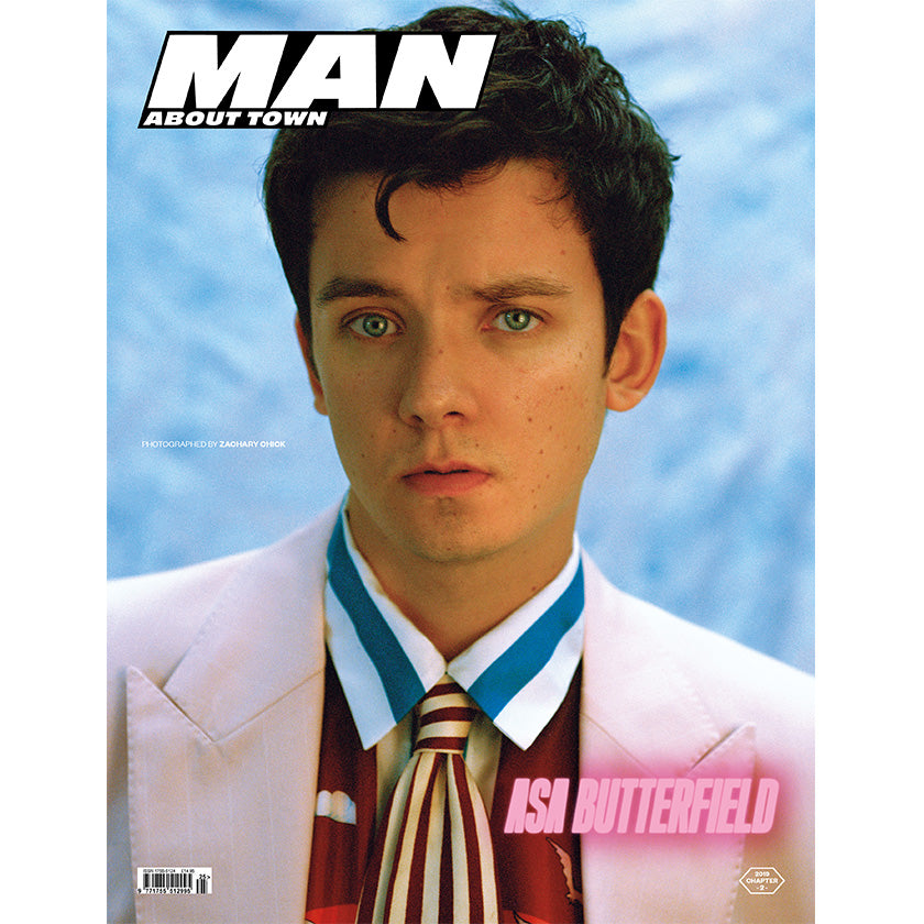ASA BUTTERFIELD covers Man About Town 2019, Chapter II