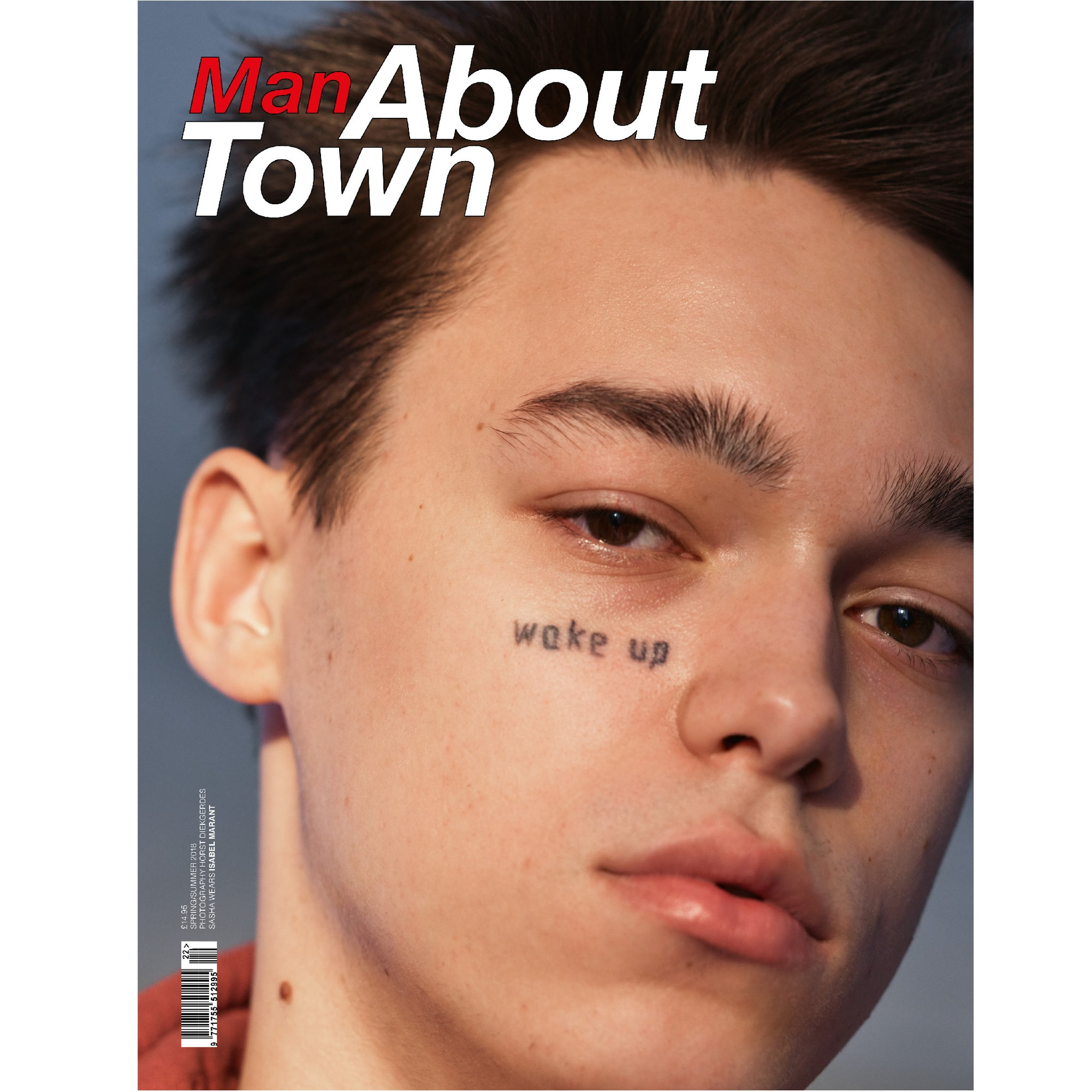 MAN ABOUT TOWN MAGAZINE SS18 SASHA TRAUTVEIN COVER