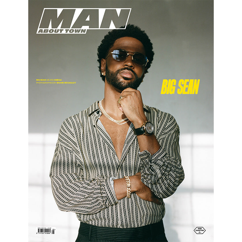 BIG SEAN covers Man About Town 2019, Chapter II