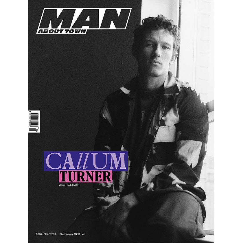 CALLUM TURNER covers Man About Town 2020, Chapter I