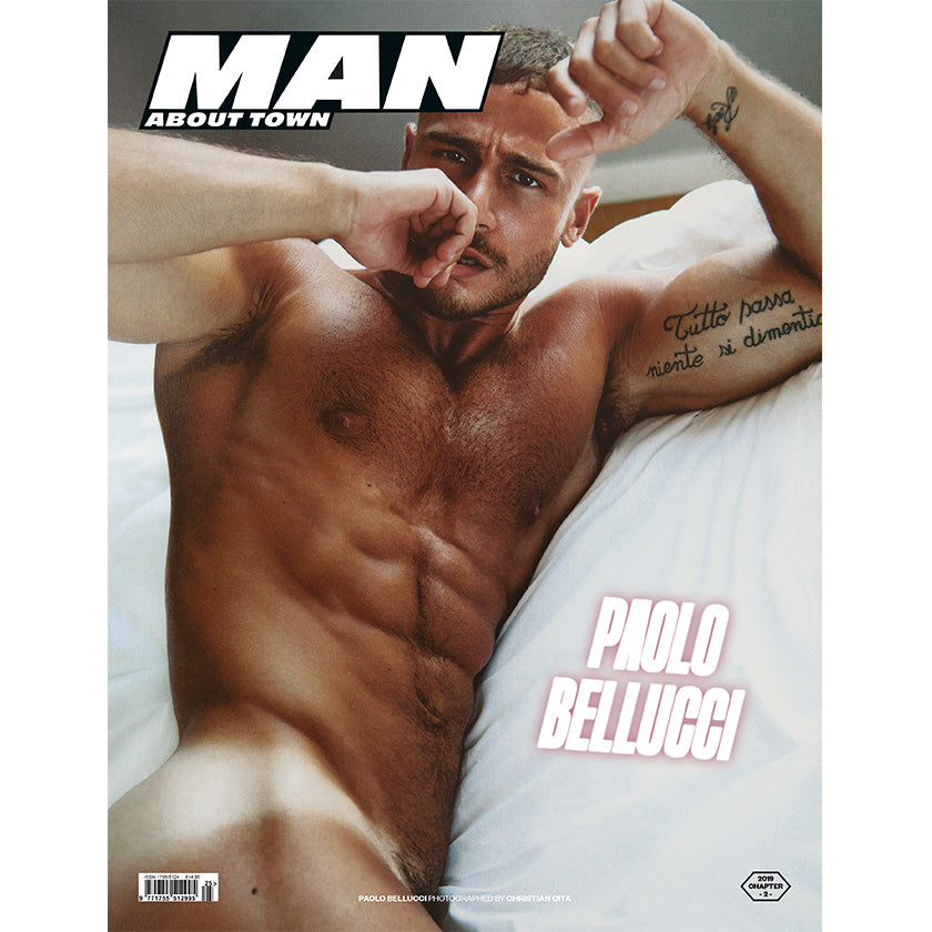 PAOLO BELLUCCI covers Man About Town 2019, Chapter II