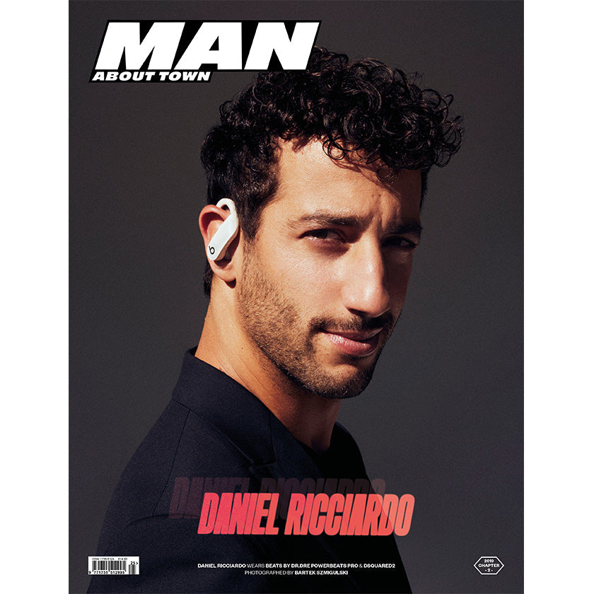 DANIEL RICCIARDO covers Man About Town 2019, Chapter II