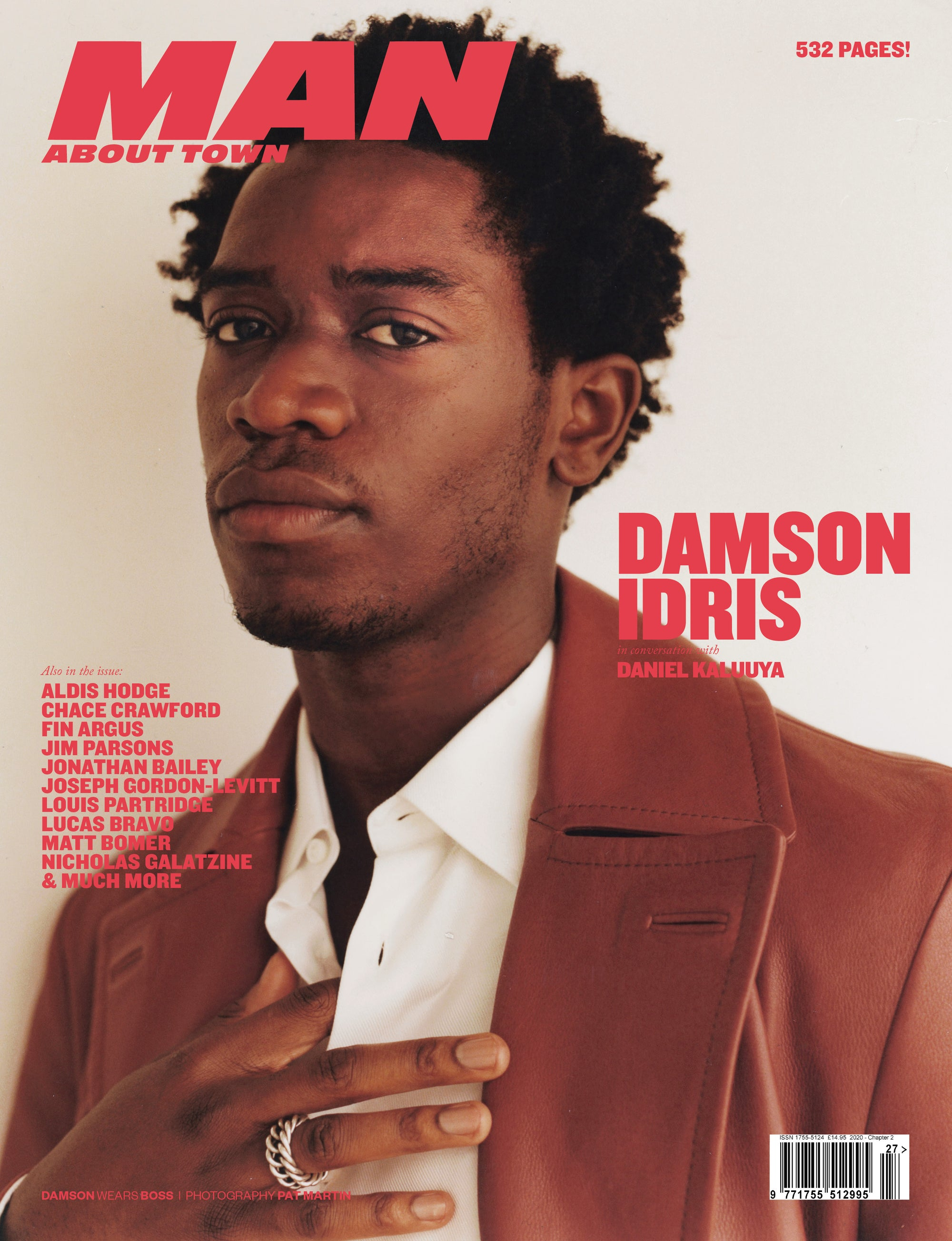 DAMSON IDRIS cover Man About Town 2020, Chapter II