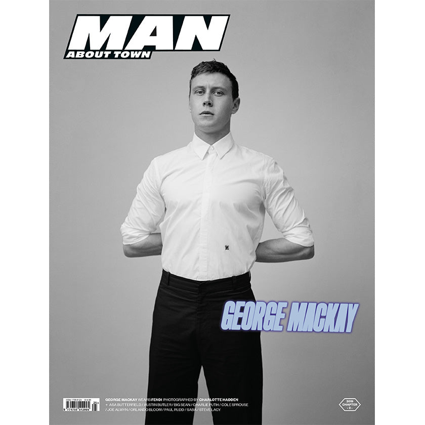 GEORGE MACKAY covers Man About Town 2019, Chapter II
