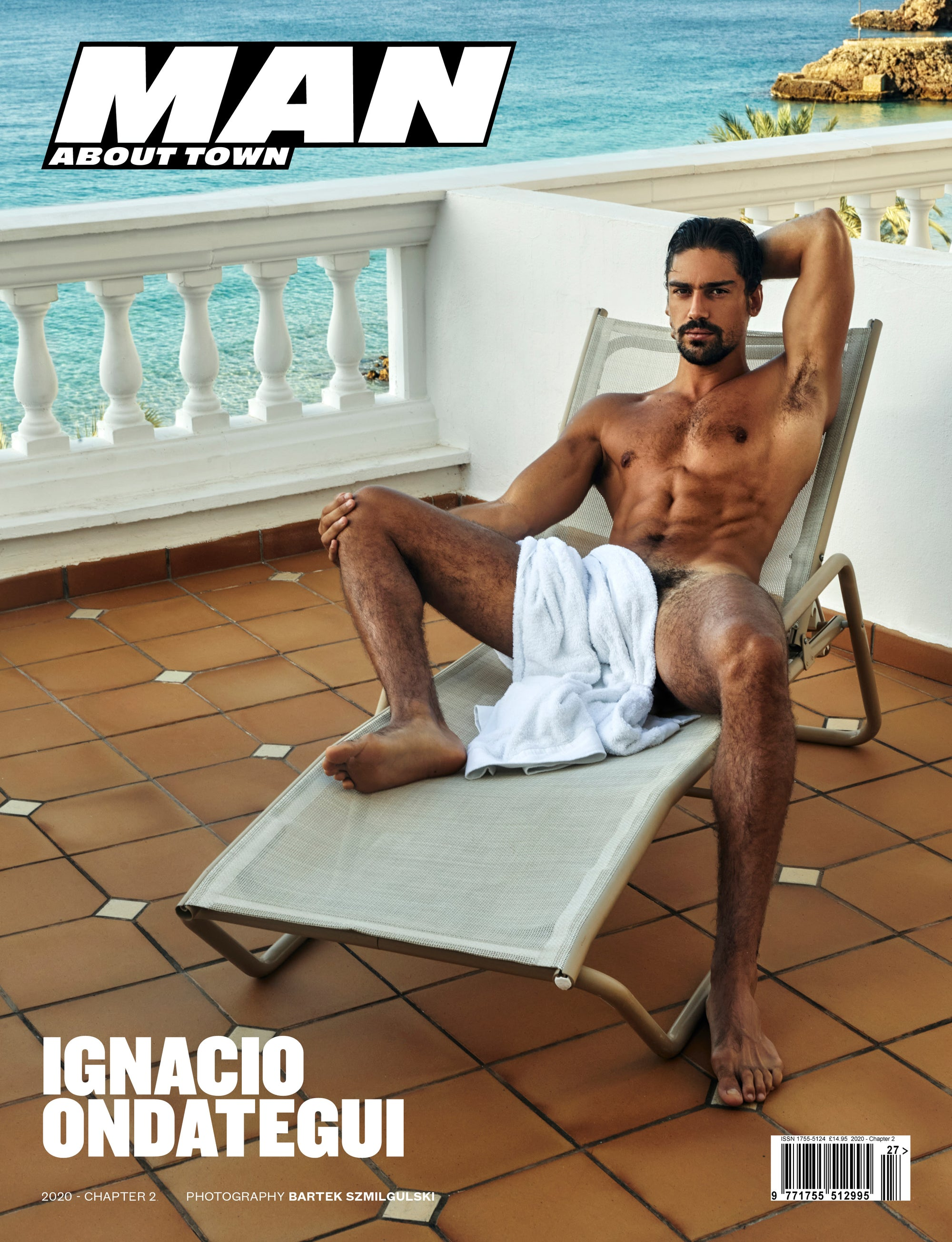 Model Ignacio Ondategui cover Man About Town 2020, Chapter II