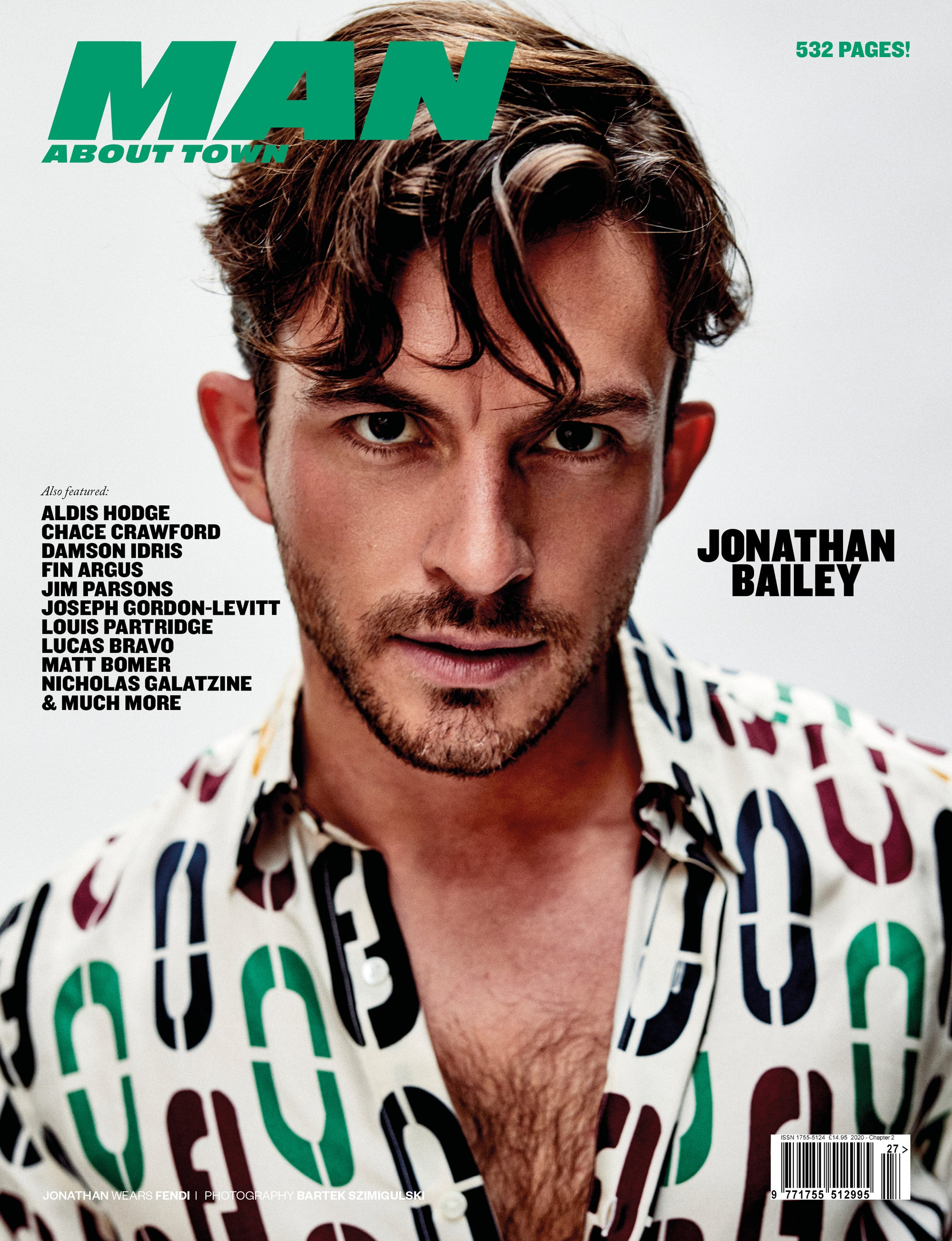 Jonathan Bailey cover Man About Town 2020, Chapter II