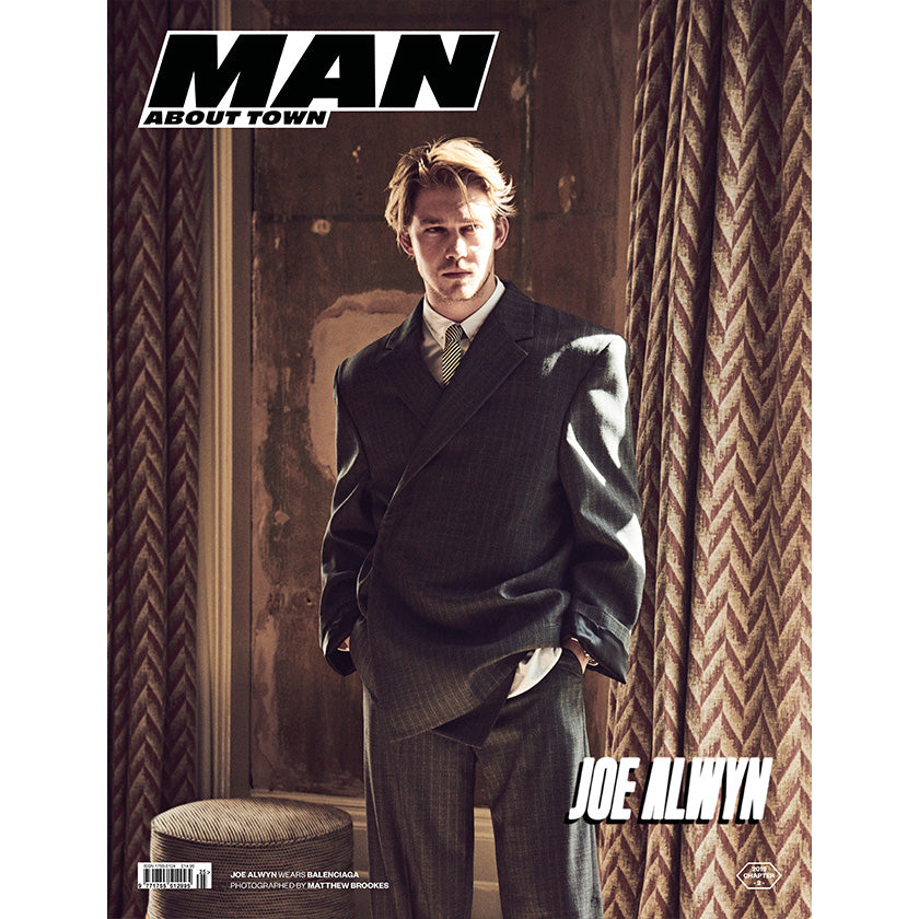 JOE ALWYN covers Man About Town 2019, Chapter II