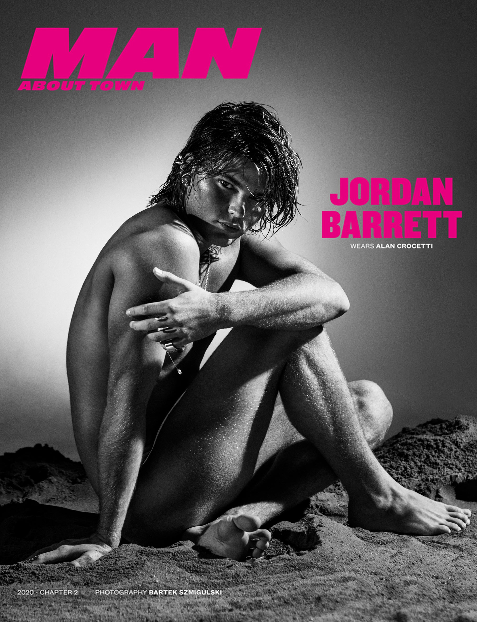 JORDAN BARRETT covers Man About Town 2020, Chapter II