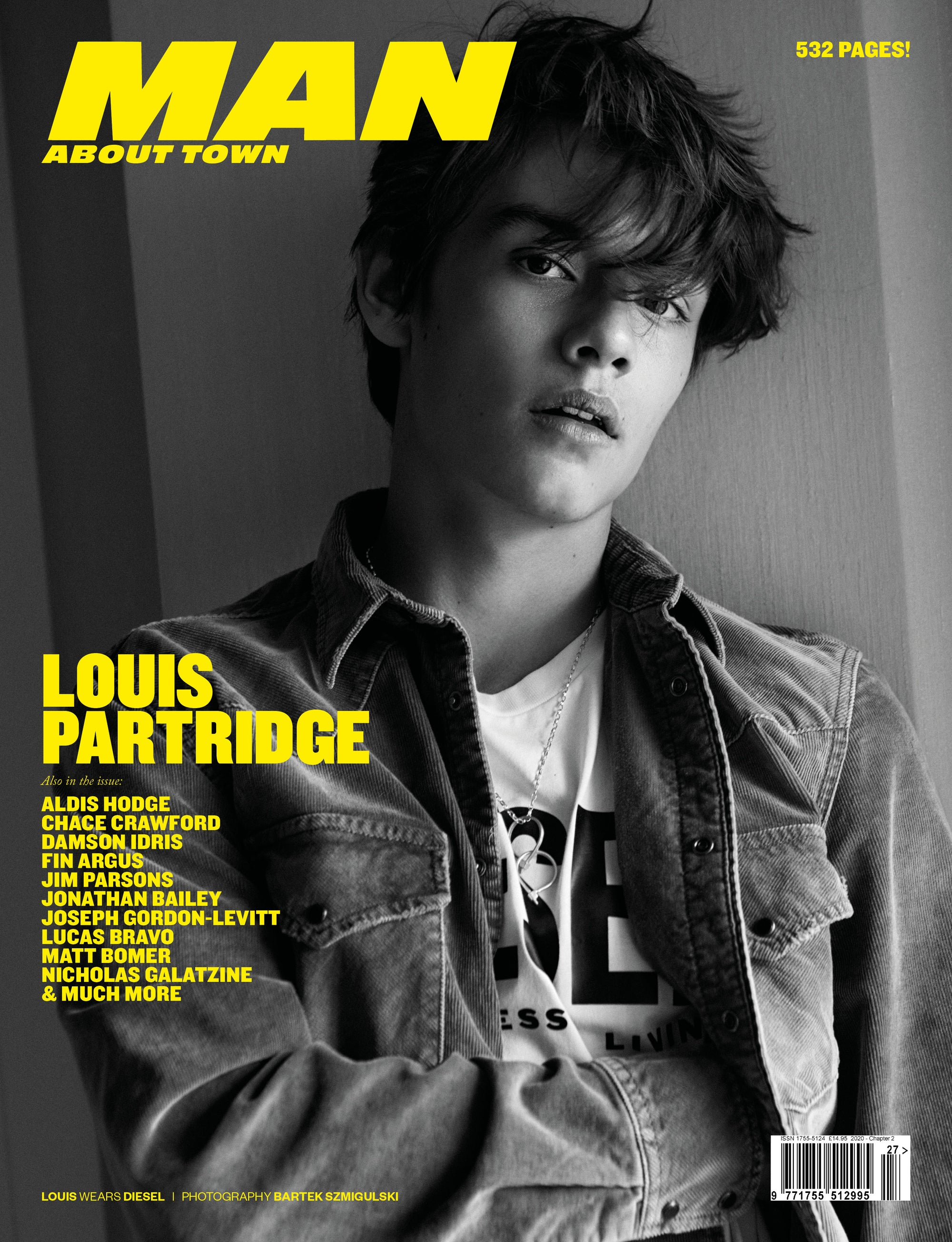 LOUIS PARTRIDGE covers Man About Town 2020, Chapter II