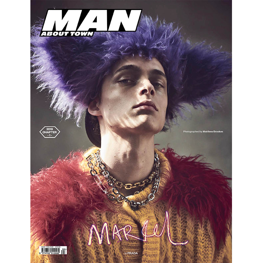 MARCEL KORUSIEWICZ covers Man About Town: 2019, Chapter 1