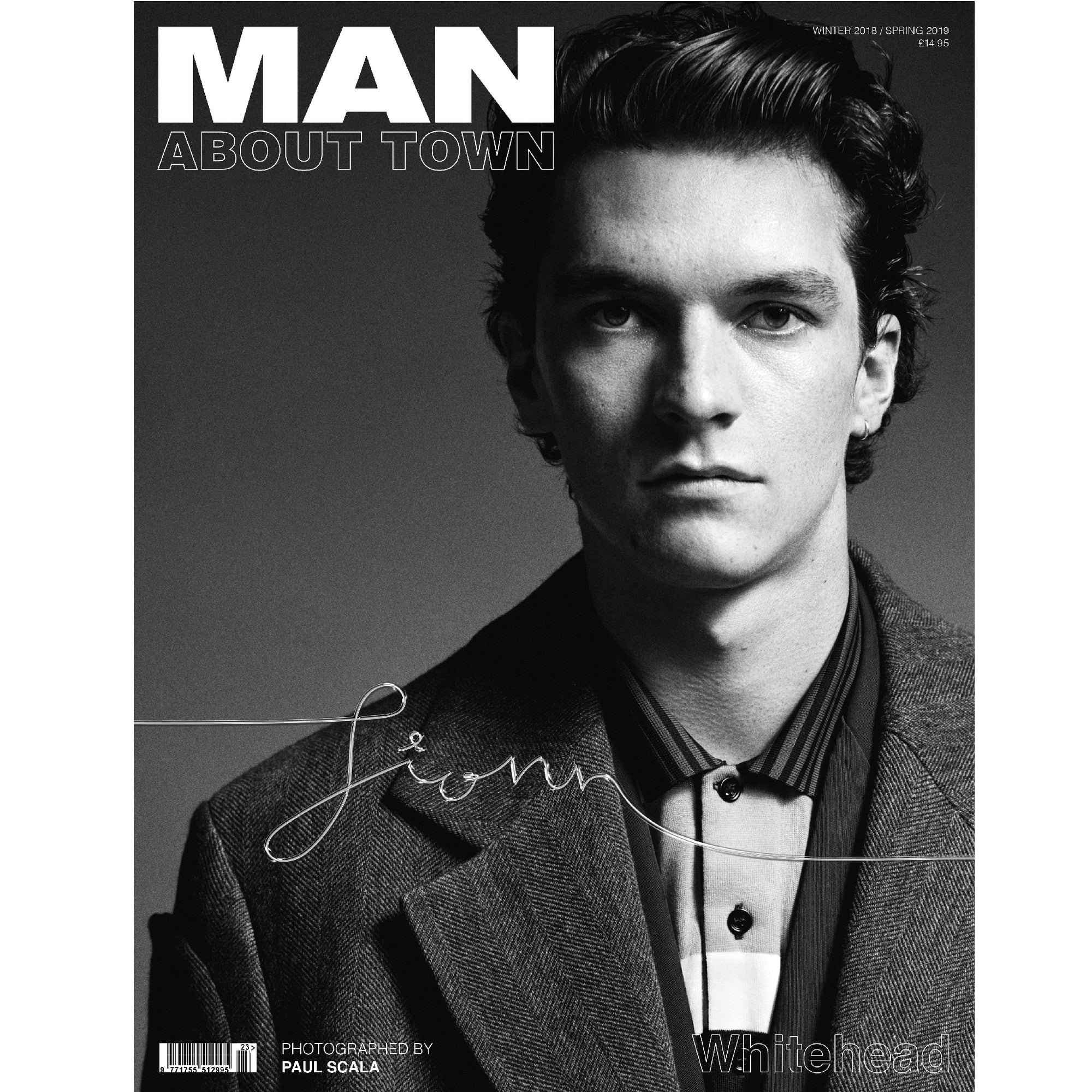 FIONN WHITEHEAD - Man About Town Winter 2018 / Spring 2019 Magazine