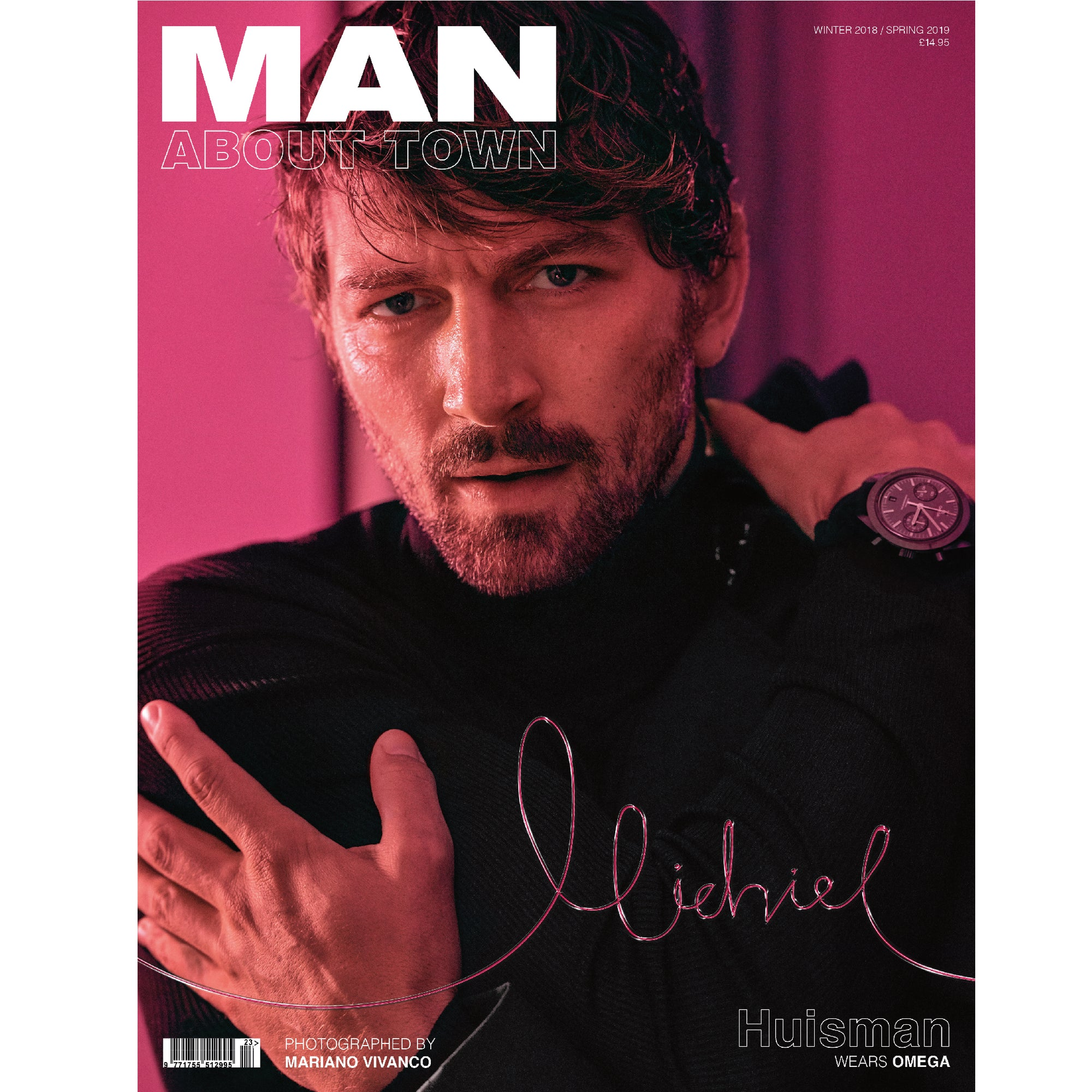 MICHIEL HUISMAN - Man About Town Winter 2018 / Spring 2019 Magazine