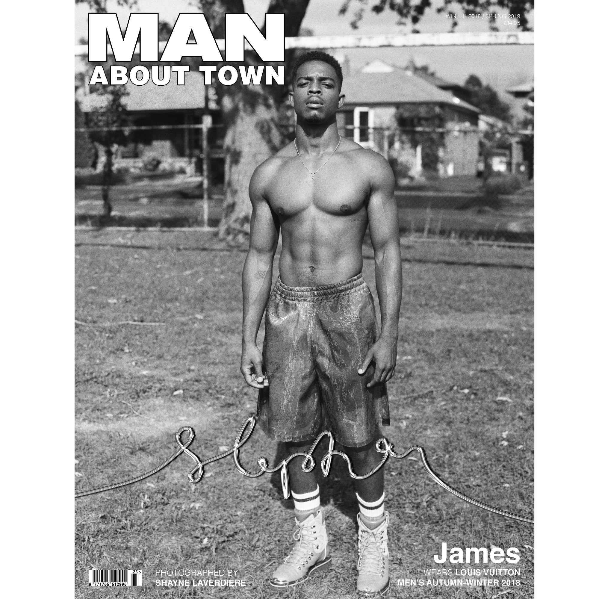 STEPHAN JAMES - Man About Town Winter 2018 / Spring 2019 Magazine