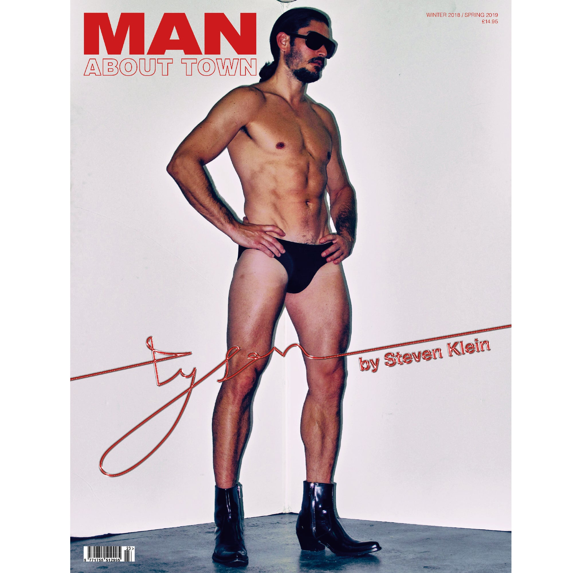 STEVEN KLEIN - TYSON - Man About Town Winter 2018 / Spring 2019 Magazine