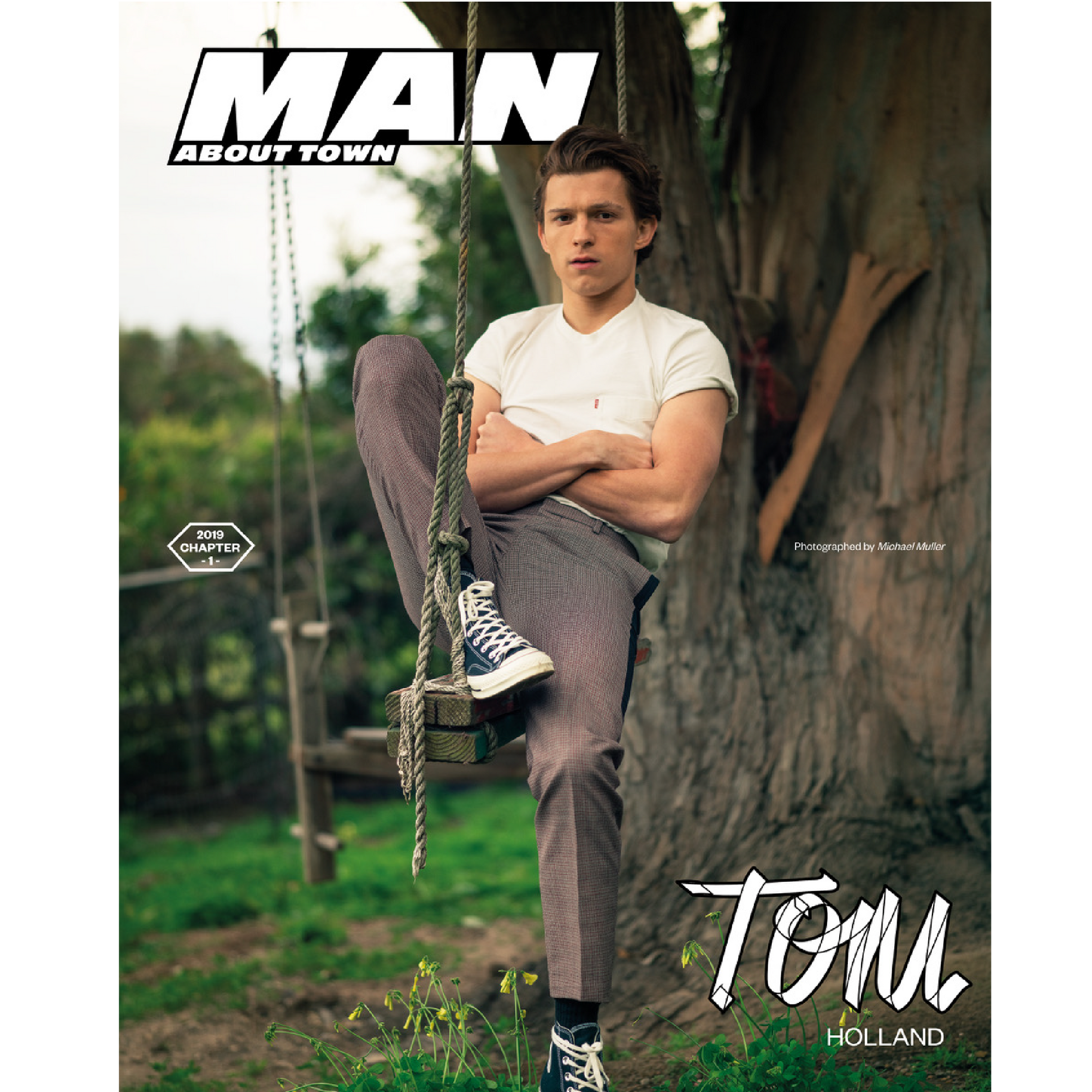 ***PRE-ORDER***  TOM HOLLAND covers Man About Town: 2019, Chapter 1