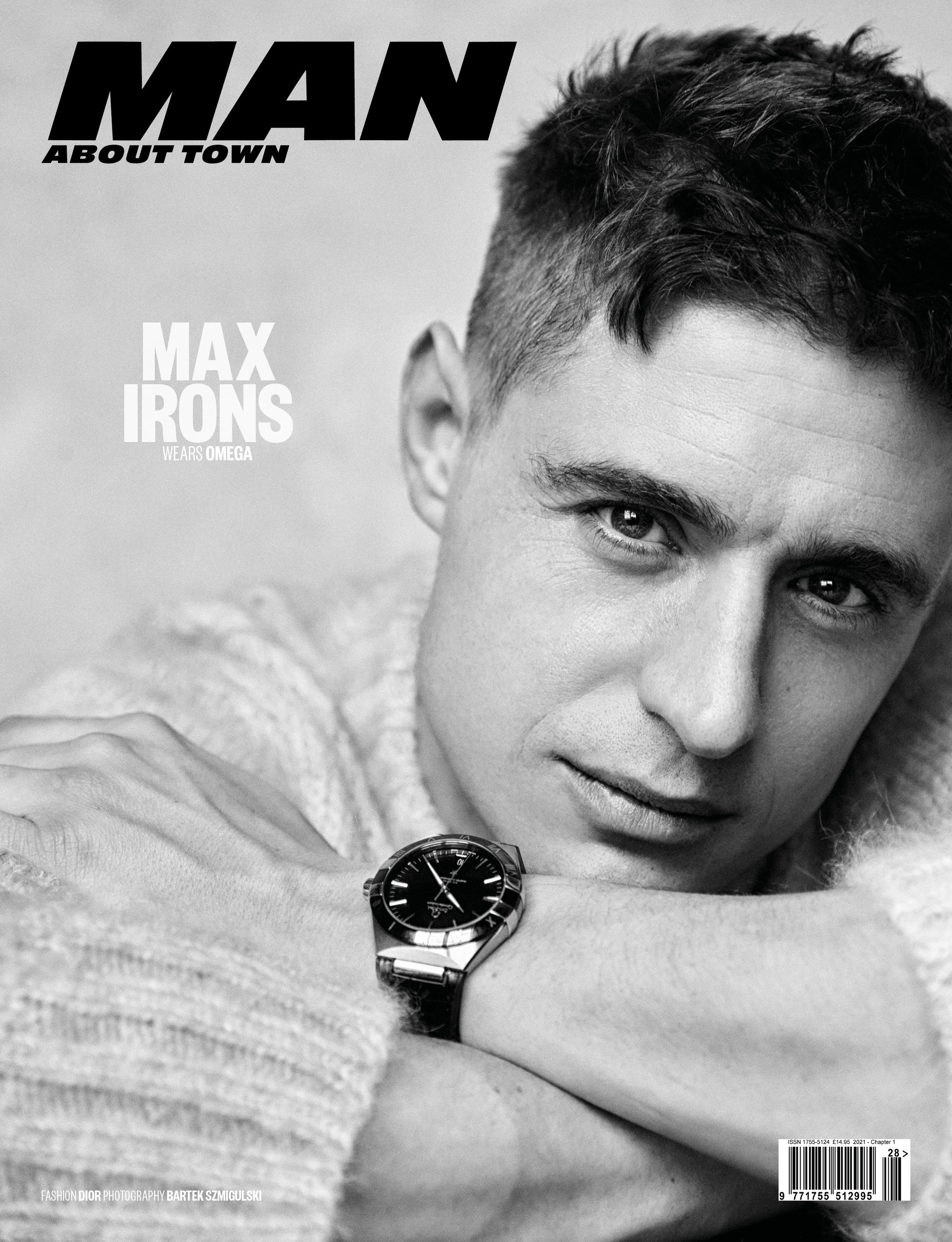 MAX IRONS covers Man About Town 2021, Chapter 1