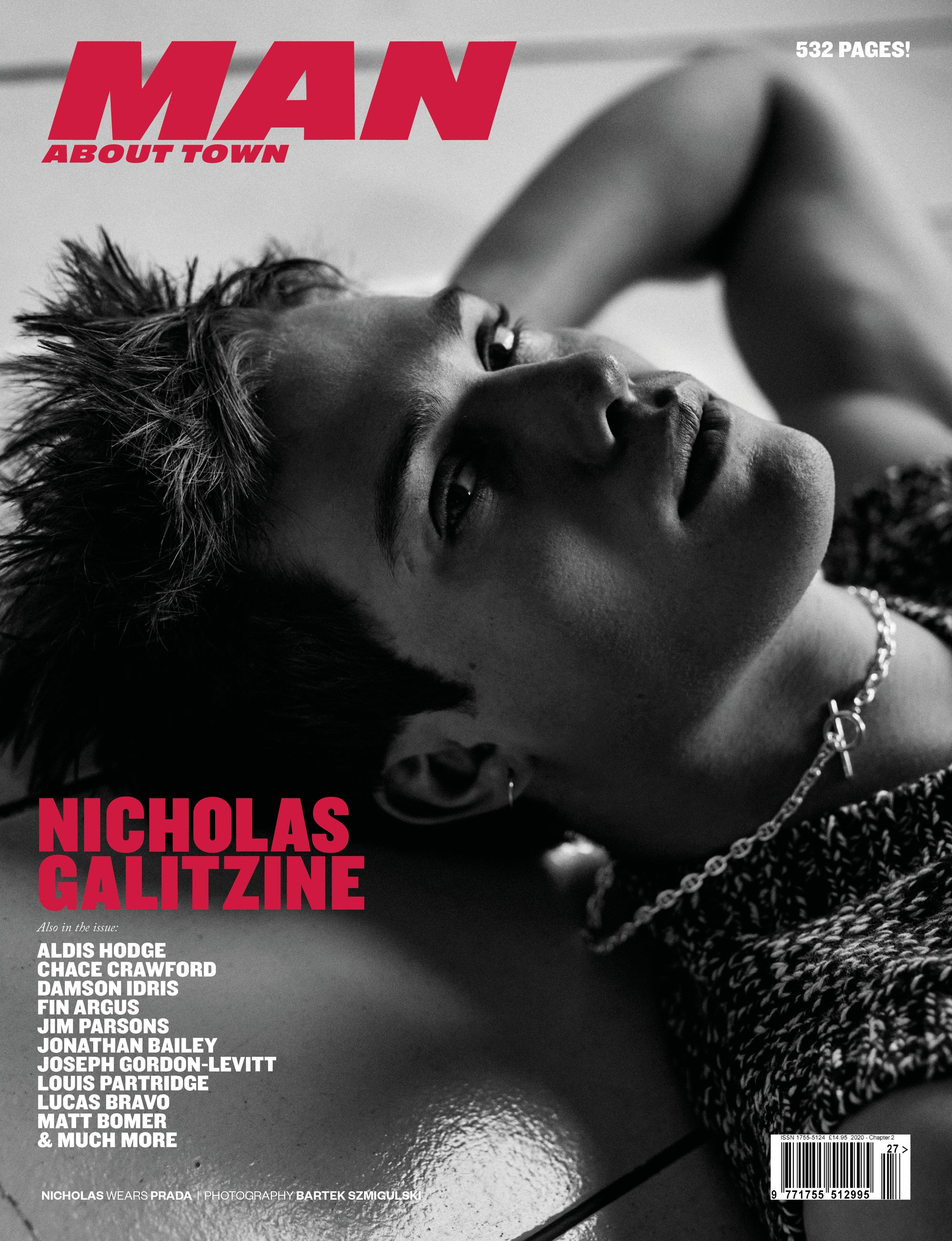 NICHOLAS GALITZINE cover Man About Town 2020, Chapter II