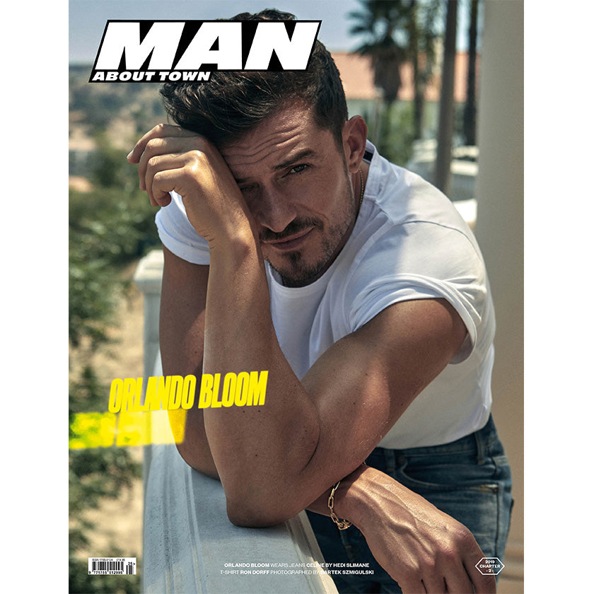 ORLANDO BLOOM covers Man About Town 2019, Chapter II