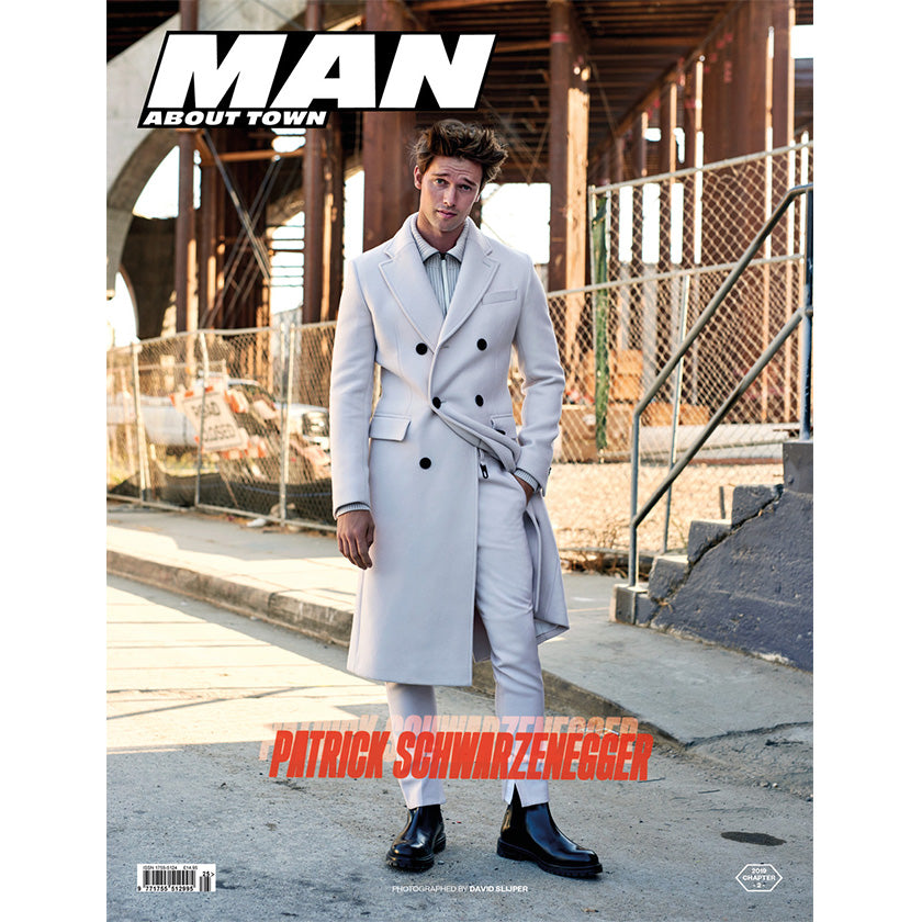 PATRICK SCHWARZENEGGER covers Man About Town 2019, Chapter II