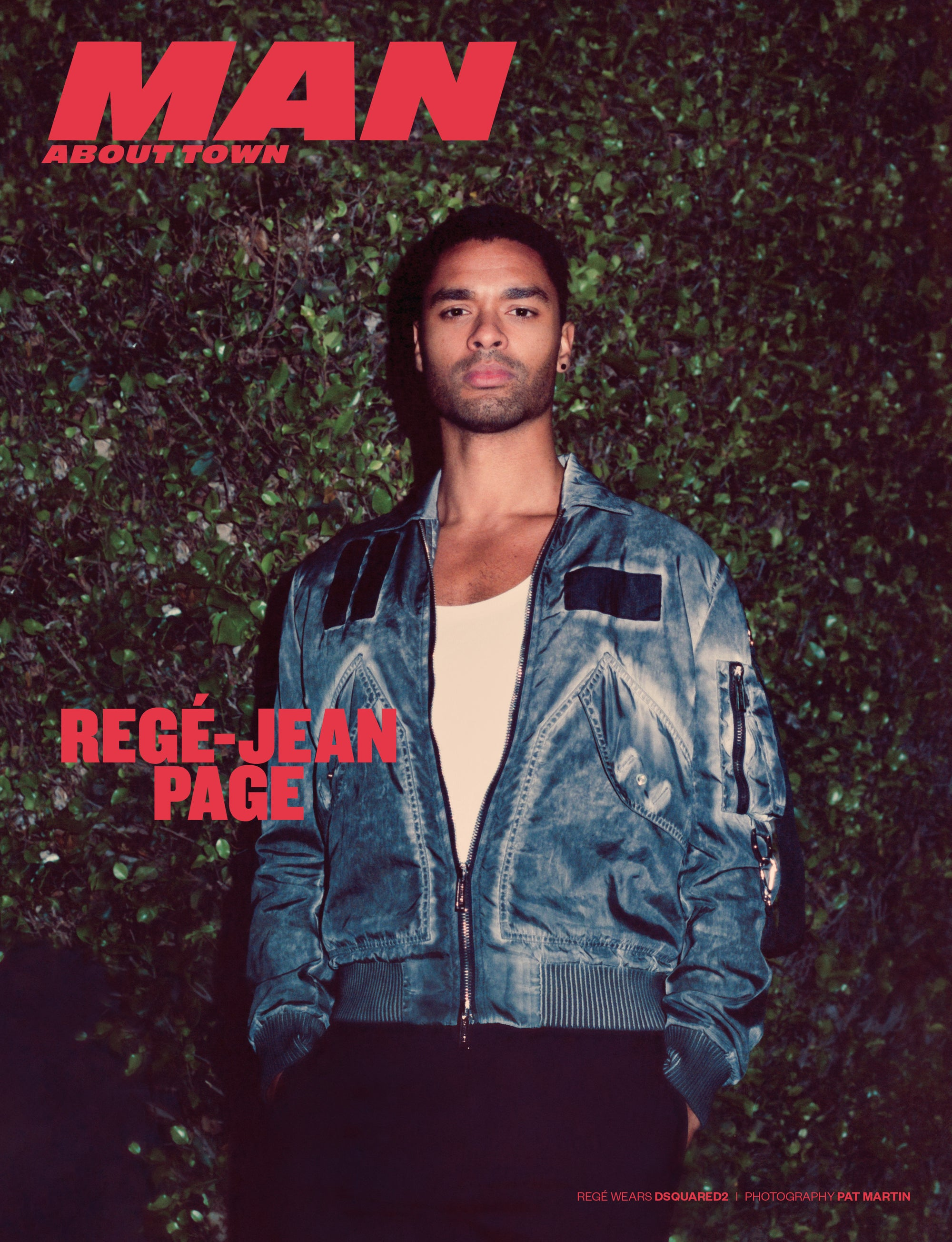 REGÉ-JEAN PAGE covers Man About Town 2021, Chapter 1