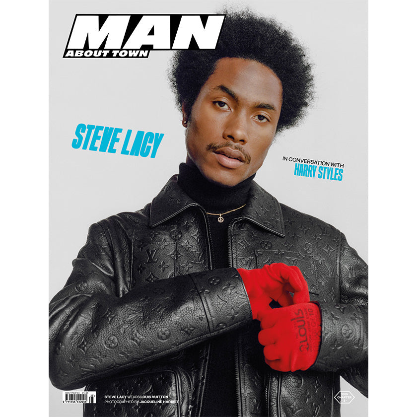 Pre-Order >>> STEVE LACY covers Man About Town 2019, Chapter II