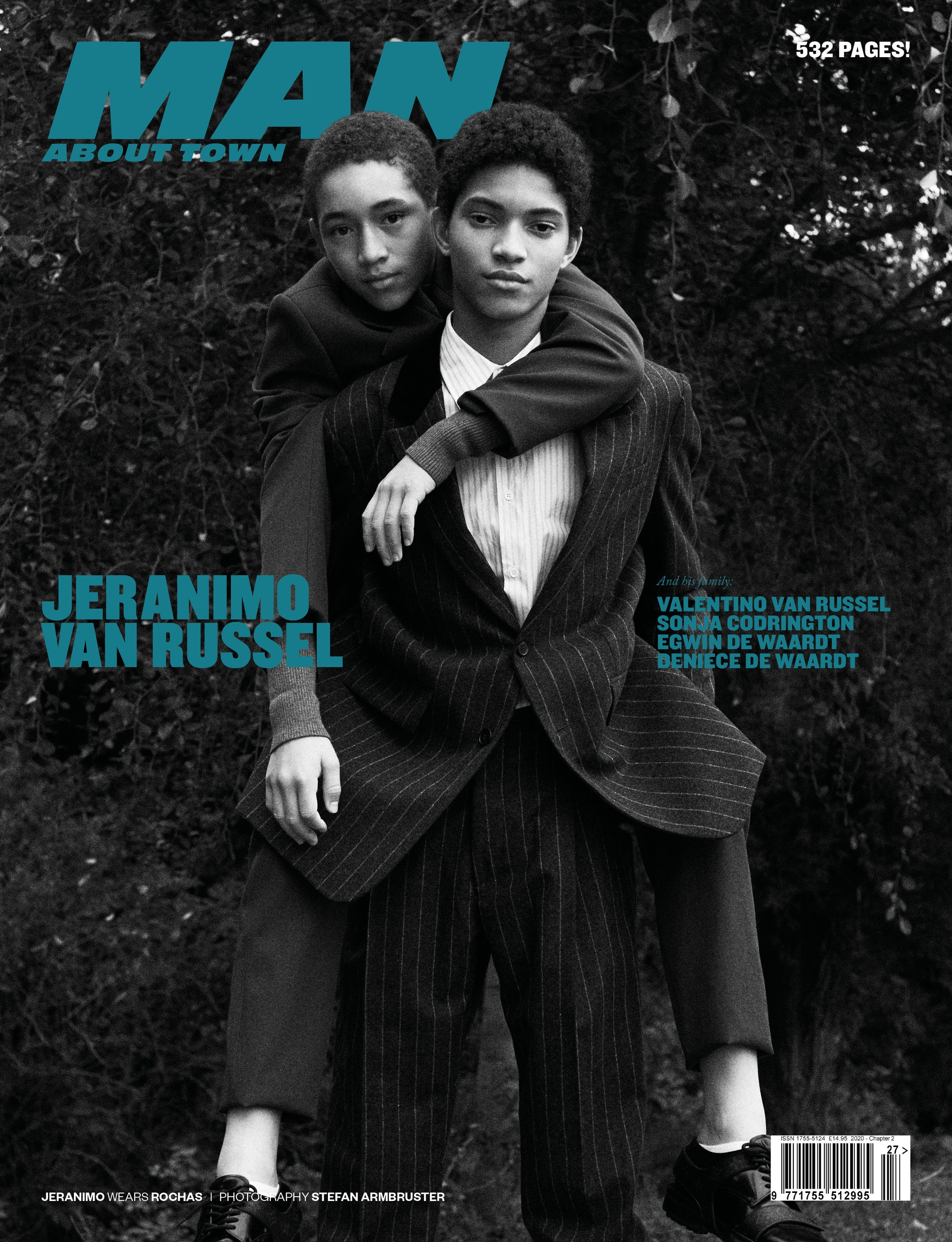 Jeranimo Van Russel cover Man About Town 2020, Chapter II