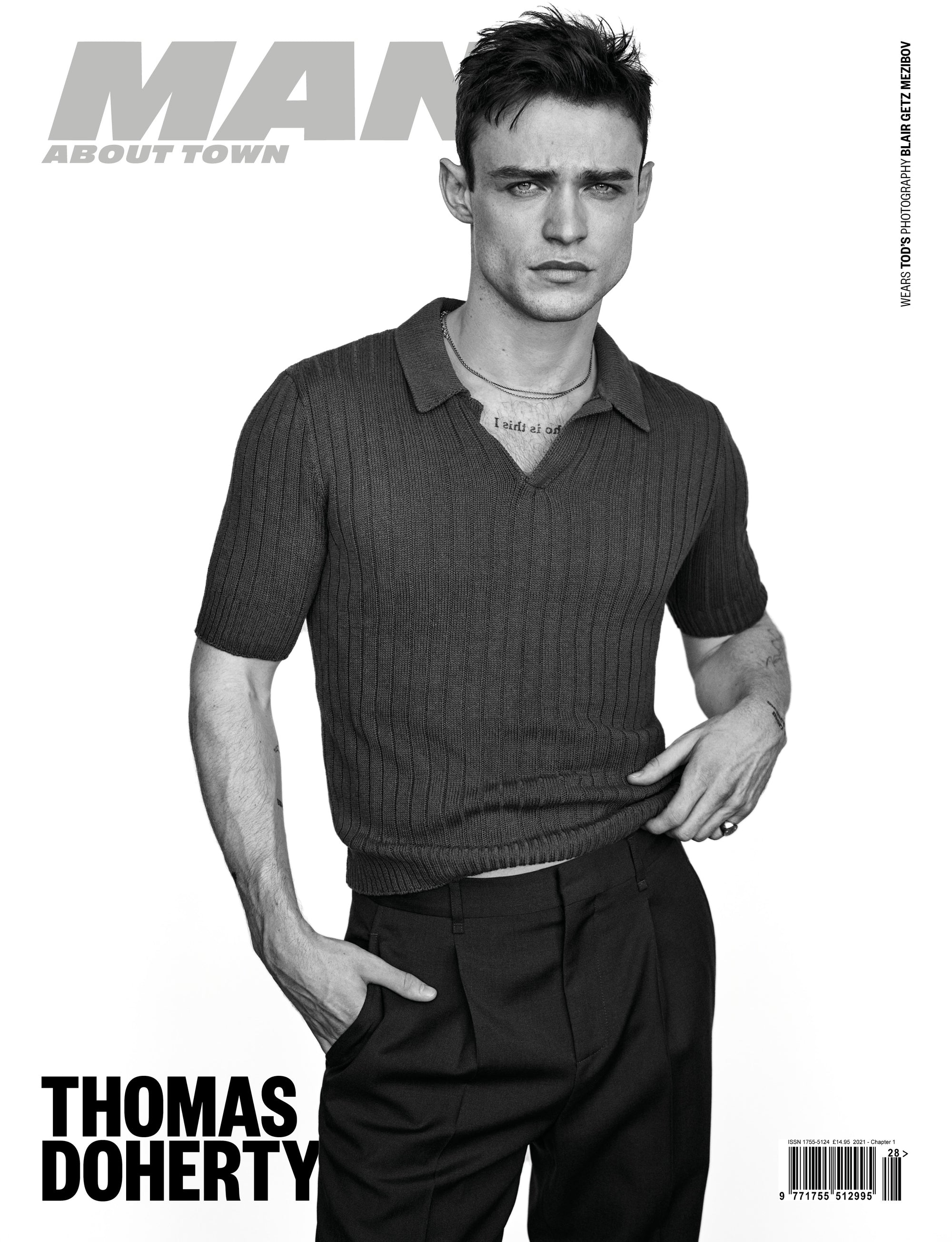 Thomas Doherty covers Man About Town 2021, Chapter 1