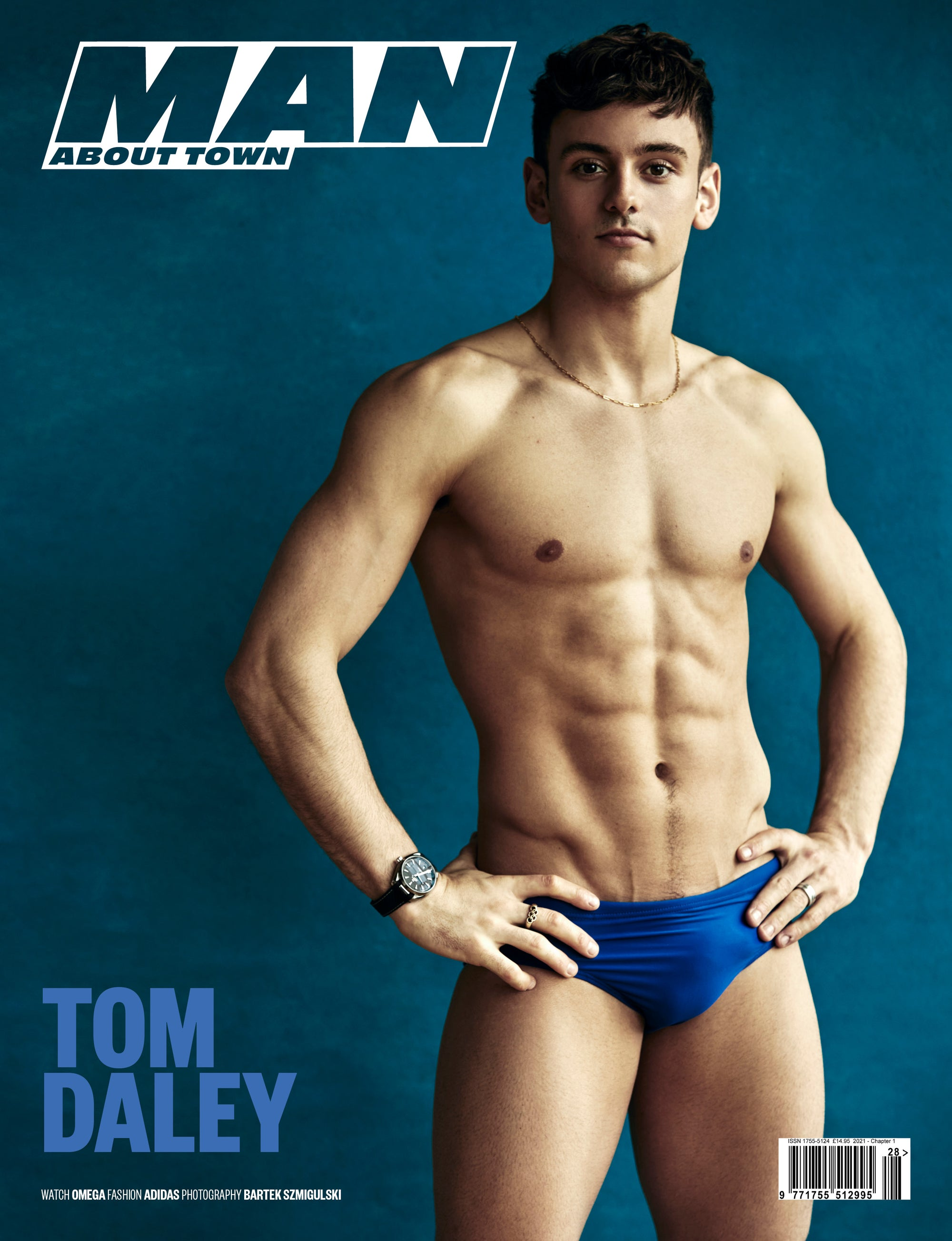 TOM DALEY covers Man About Town 2021, Chapter 1