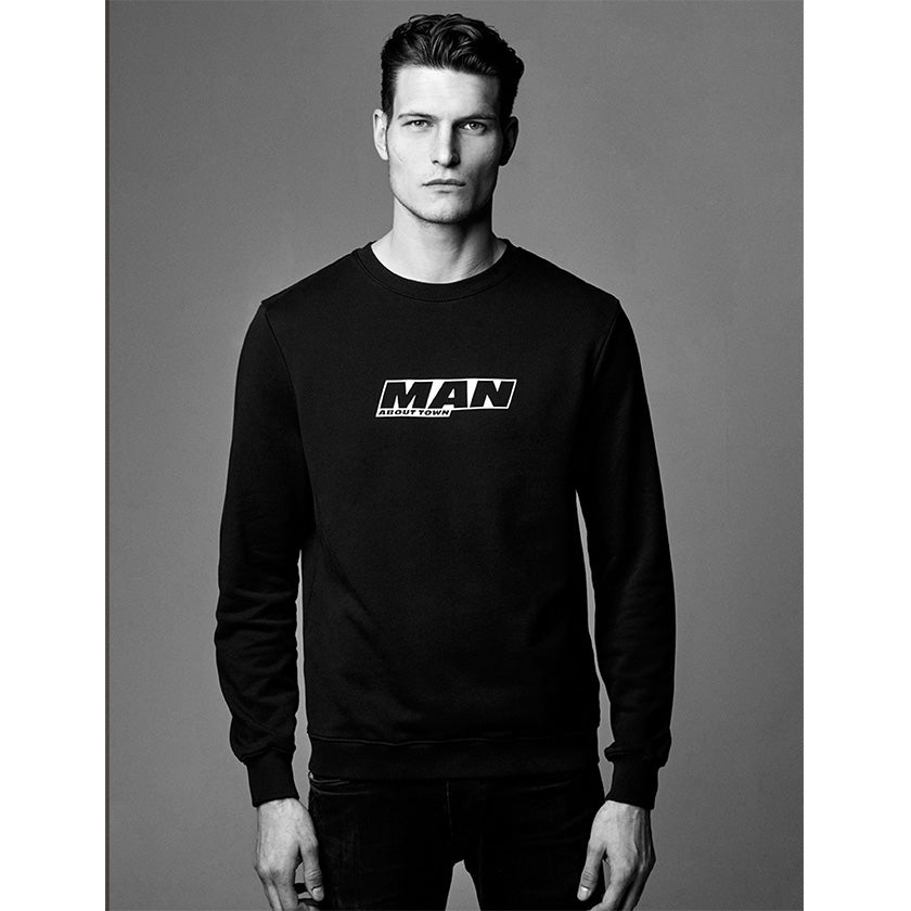 Man About Town 2020 Sweatshirt by Ron Dorff