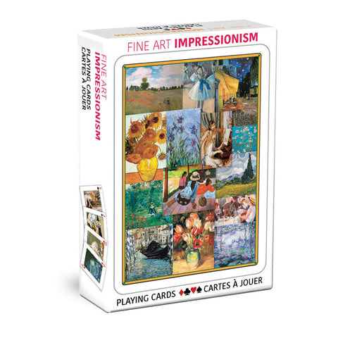 Fine Art Impressionism | Playing Cards