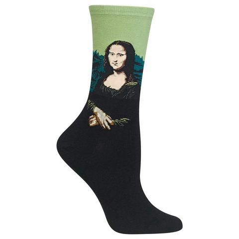 Women's Da Vinci's Mona Lisa Socks