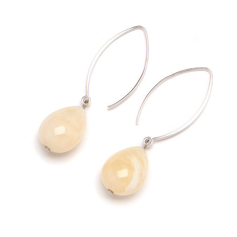 May Earring | Cream