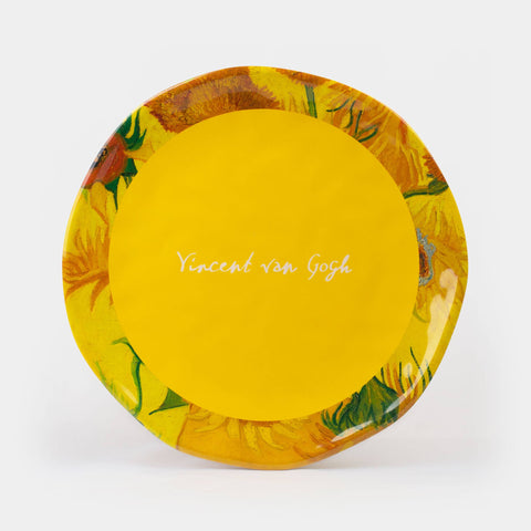 Van Gogh - Sunflowers Melamine Dinner Plate