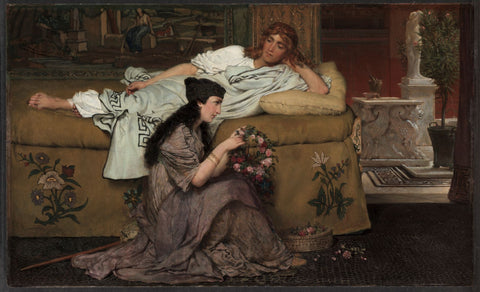 Glaucus and Nydia by  Lawrence Alma-Tadema | Print
