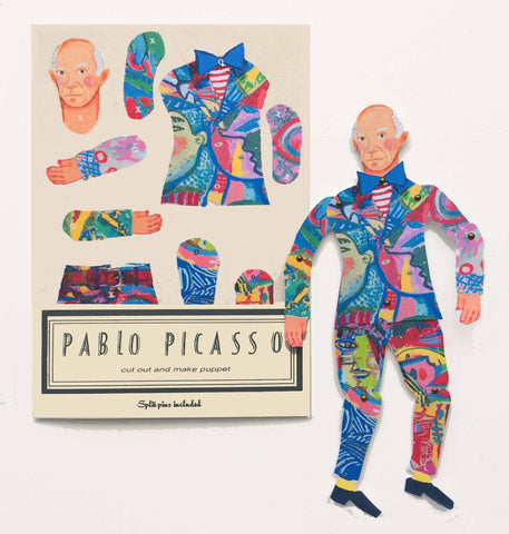 Picasso Cut and Make Paper Puppet